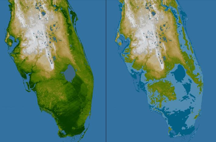 sea level rise in florida